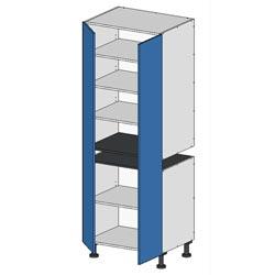 Flatpack 2 Part Pantry Unit w pair of doors