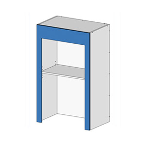 Flatpack Appliance Unit w RollUp Door