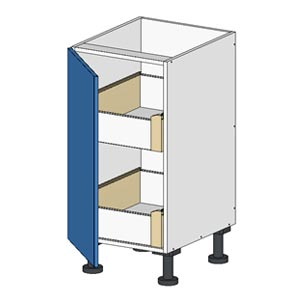 Flatpacl Base Cabinet w Door and 2 Drawers Budget
