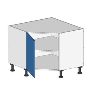 Flatpack Base Corner Cabinet w Door