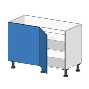 Flatpacl Base Return Cabinet w Door