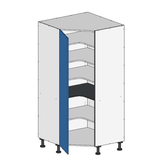 Flatpack Corner Pantry w Door