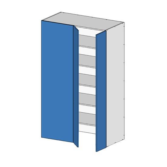 Flatpack Pantry Return Unit w Doors no bottom