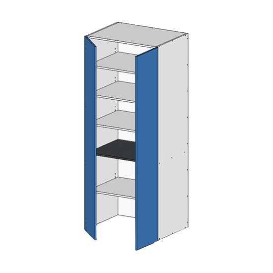 Flatpack Pantry Unit w Doors no bottom
