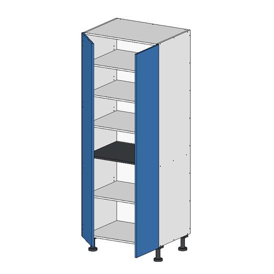 Flatpack Pantry Unit w Doors