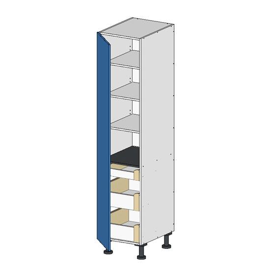 Flatpack Pantry Unit w Left door budget