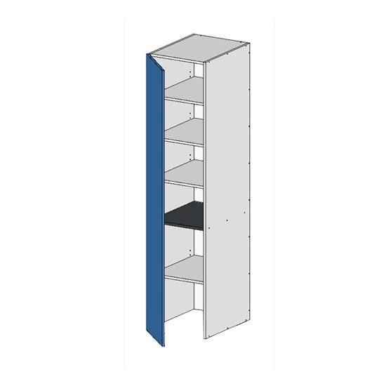 Flatpack Pantry Unit w Left door no bottom