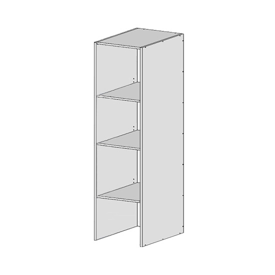 Flatpack Tall Open Appliance Unit