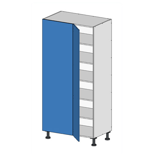 Flatpack Tall Return Unit w Door