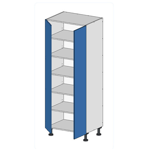 Flatpack Tall Unit w Doors