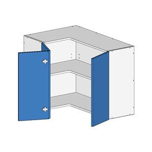 Flatpack L Shape Unit w BiFold Doors