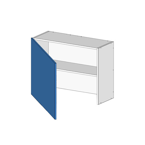 Flatpack Rangehood Unit w Door