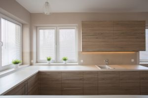 A Trademark Of L Shaped Kitchen Design Is The Use Of One Or Two Adjacent  Walls In The Design. Some L Shaped Kitchens Use Both Walls And Feature  Banks Of ...