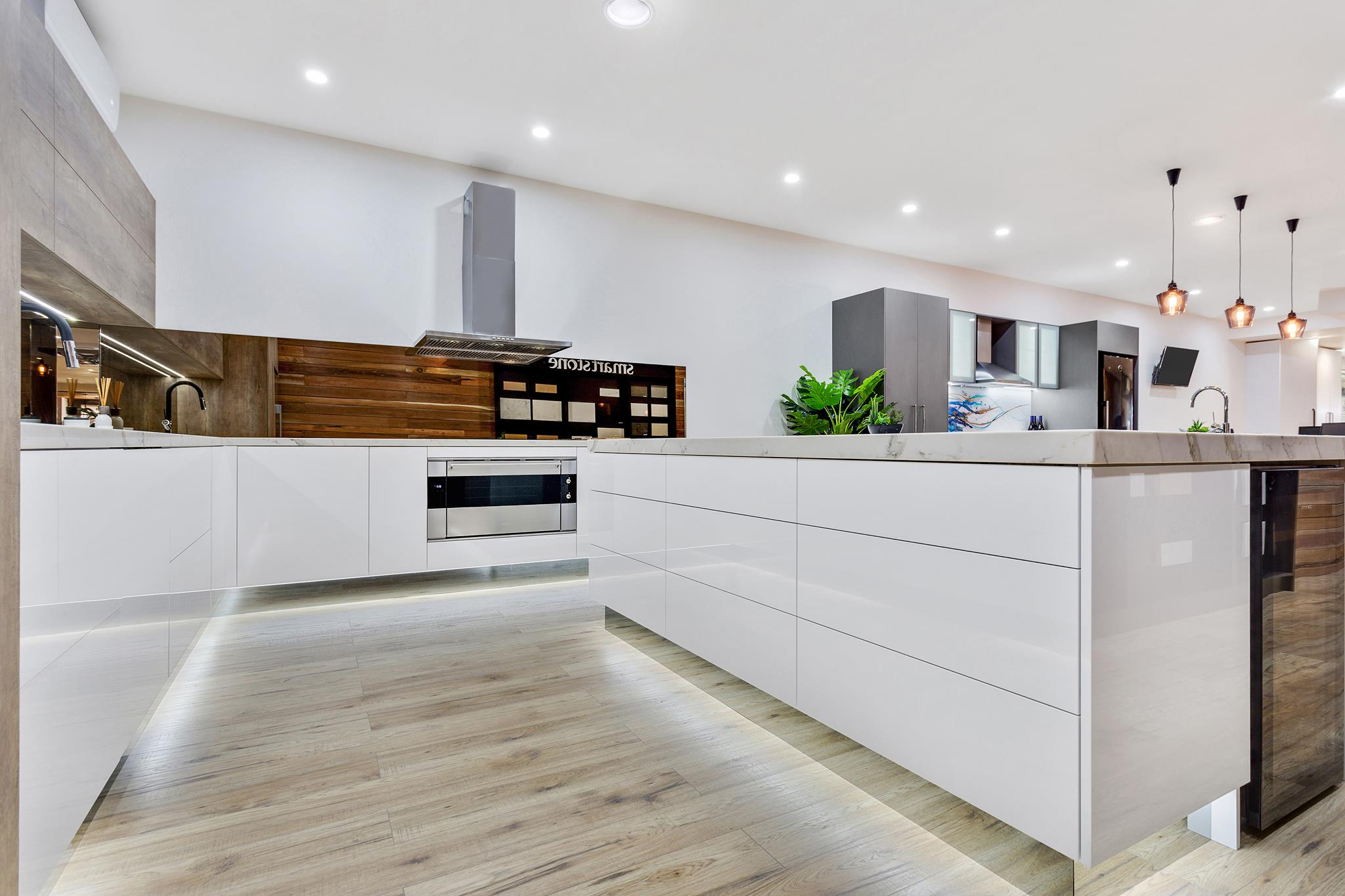 Flat Pack Queensland kitchen showroom 2